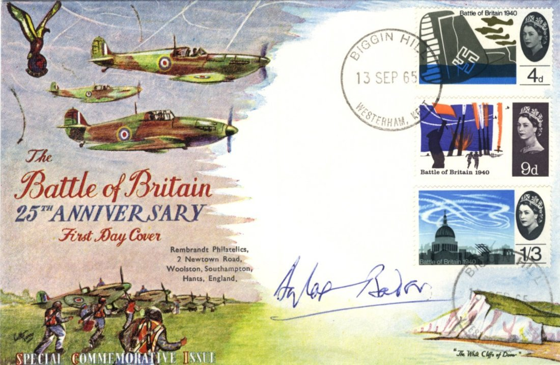 BADER DOUGLAS: (1910-1982) British World War II Ace