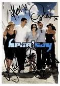 POPULAR MUSIC: Selection of signed 8 x 10 photographs