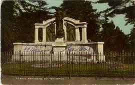 TITANIC: A vintage colour postcard photograph of the