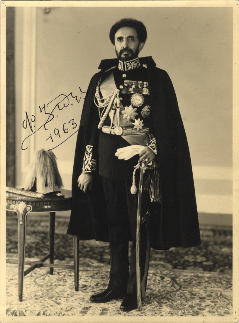 HAILE SELASSIE I: (1892-1975) Ethiopian Regent 1916-30