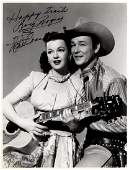 WESTERNS: Selection of signed 8 x 10 photographs by