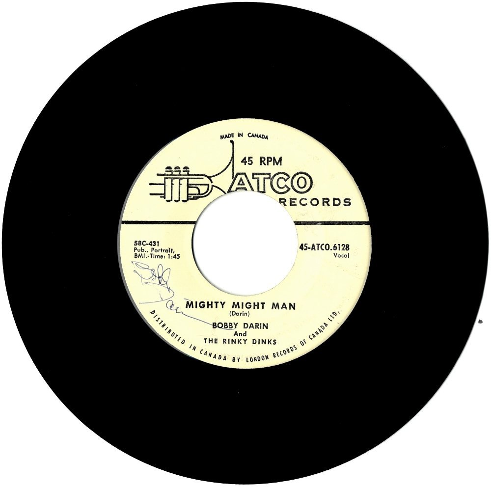 DARIN BOBBY: (1936-1973) American Rock 'n' Roll Singer.
