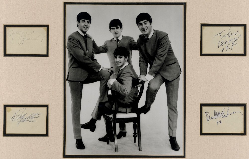BEATLES THE: A good set of four individual vintage