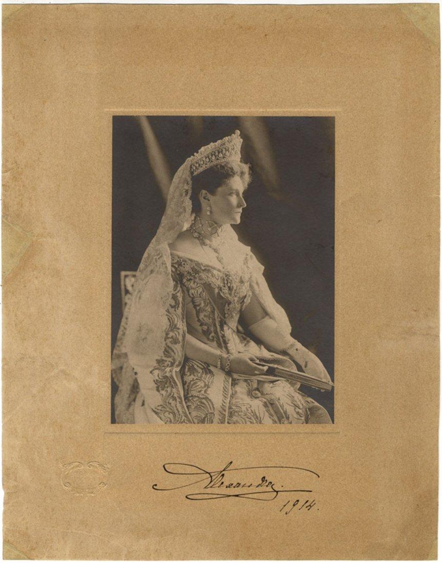 ALEXANDRA FEODOROVNA: (1872-1918) Empress Consort of