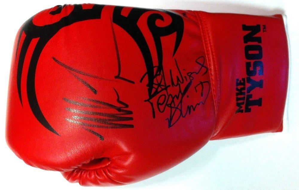 TYSON MIKE: (1966-     ) American Boxer, World