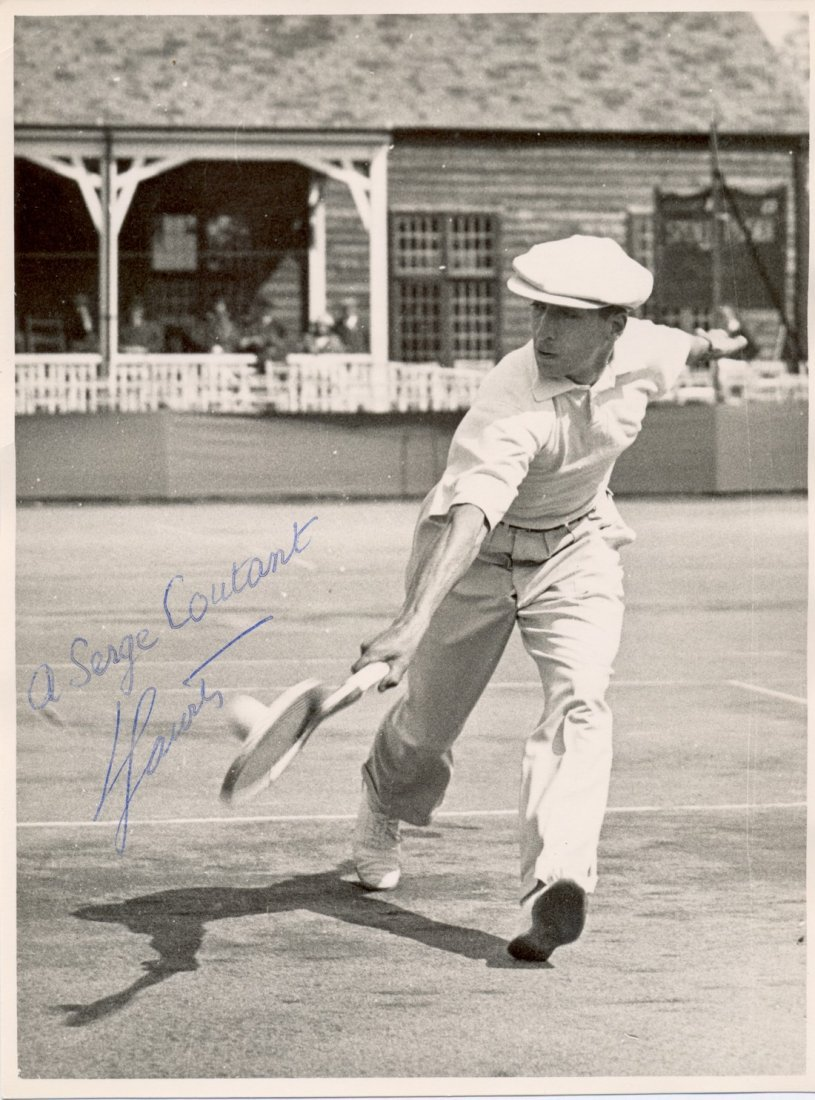 LACOSTE RENÉ: (1904-1996) French Tennis Player &