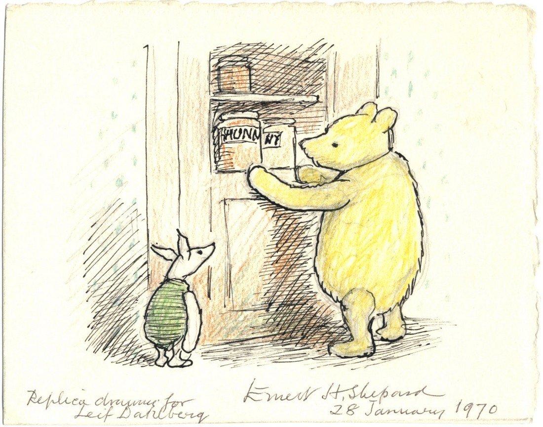 SHEPARD ERNEST H.: (1879-1976) English Artist & Book