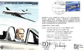 AVIATION Selection of signed First Day Covers by