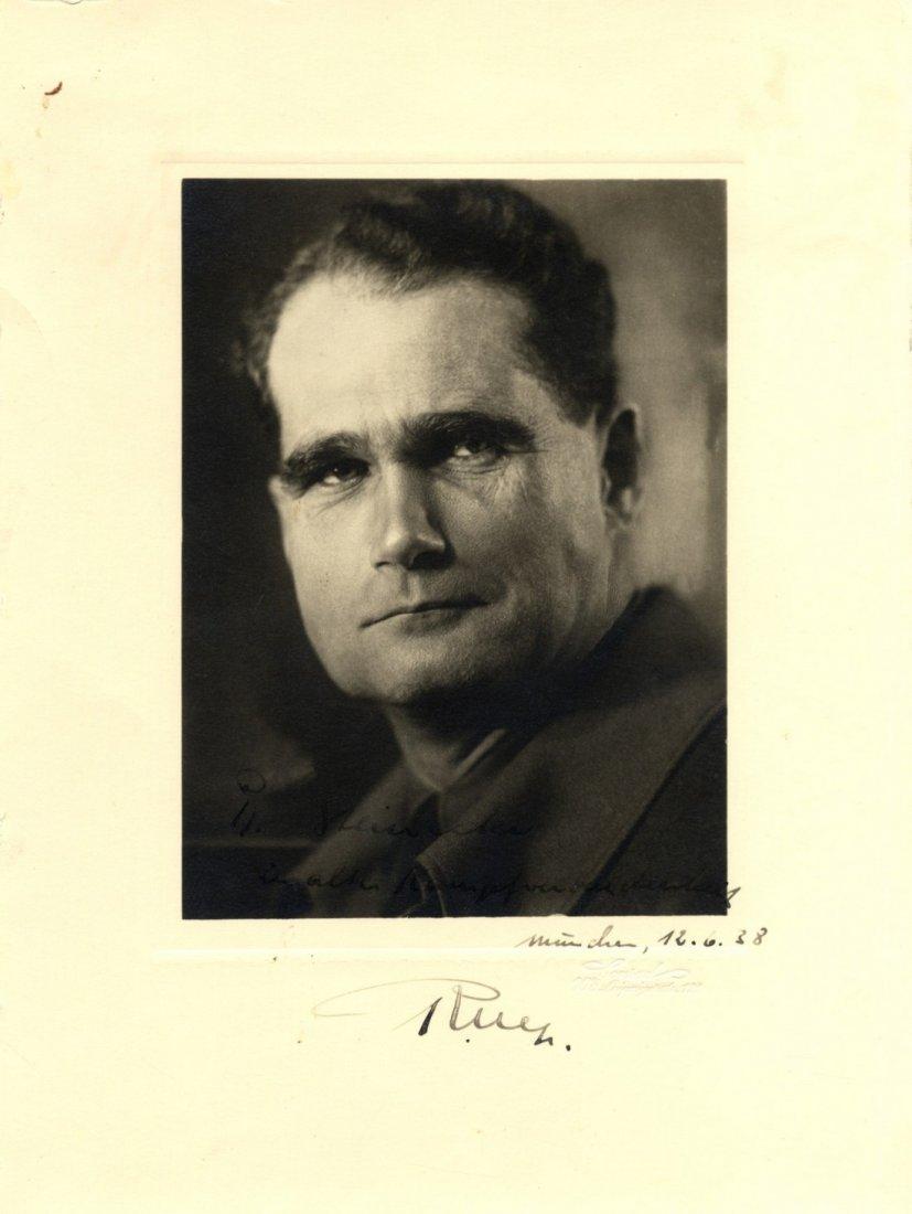 HESS RUDOLF: (1894-1987) German Reichsminister, Adolf