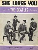 BEATLES THE Selection of unsigned printed ephemera and