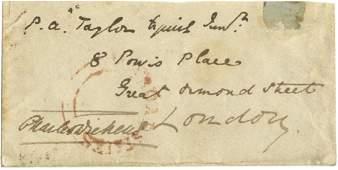 DICKENS CHARLES: (1812-1870) English Novelist. Small,