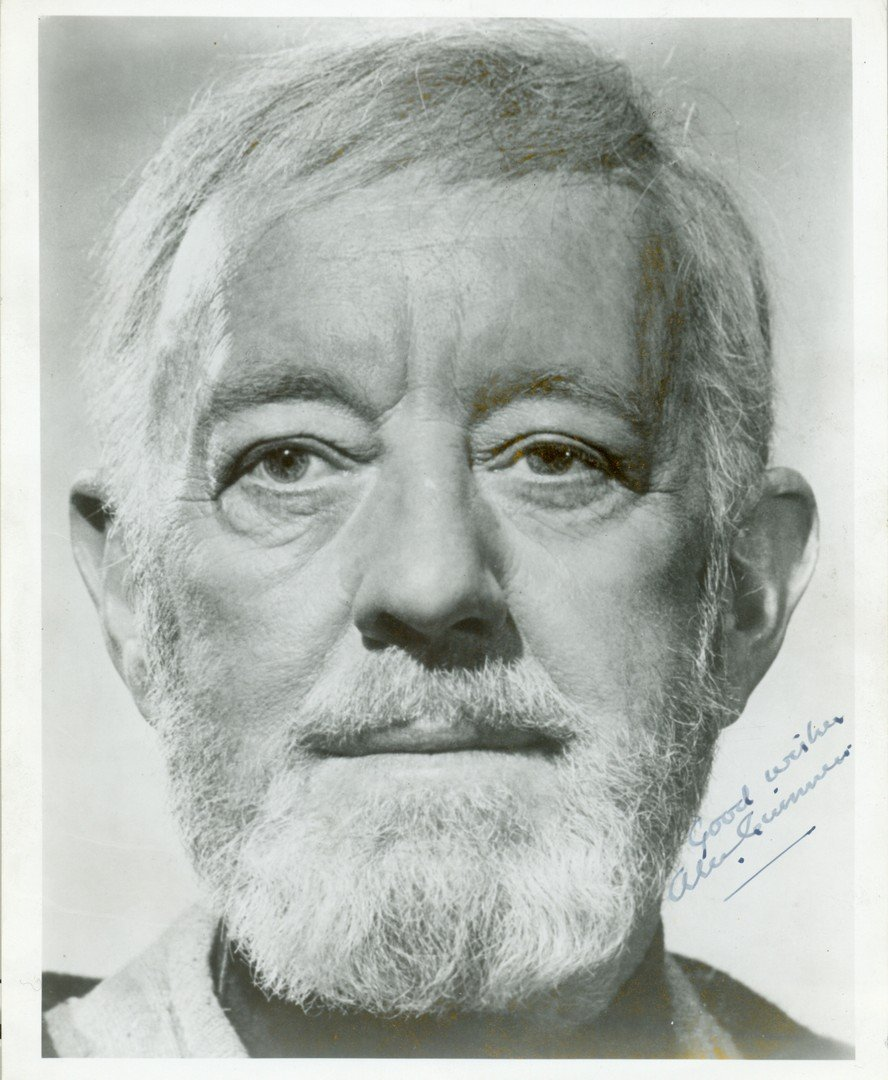 19  GUINNESS ALEC:  (1914-2000) English Actor, Academy
