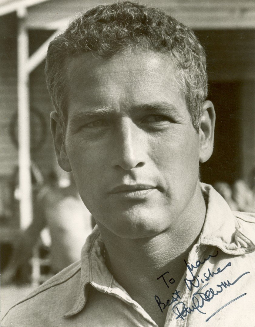 22  NEWMAN PAUL:  (1925-2008) American Actor, Academy