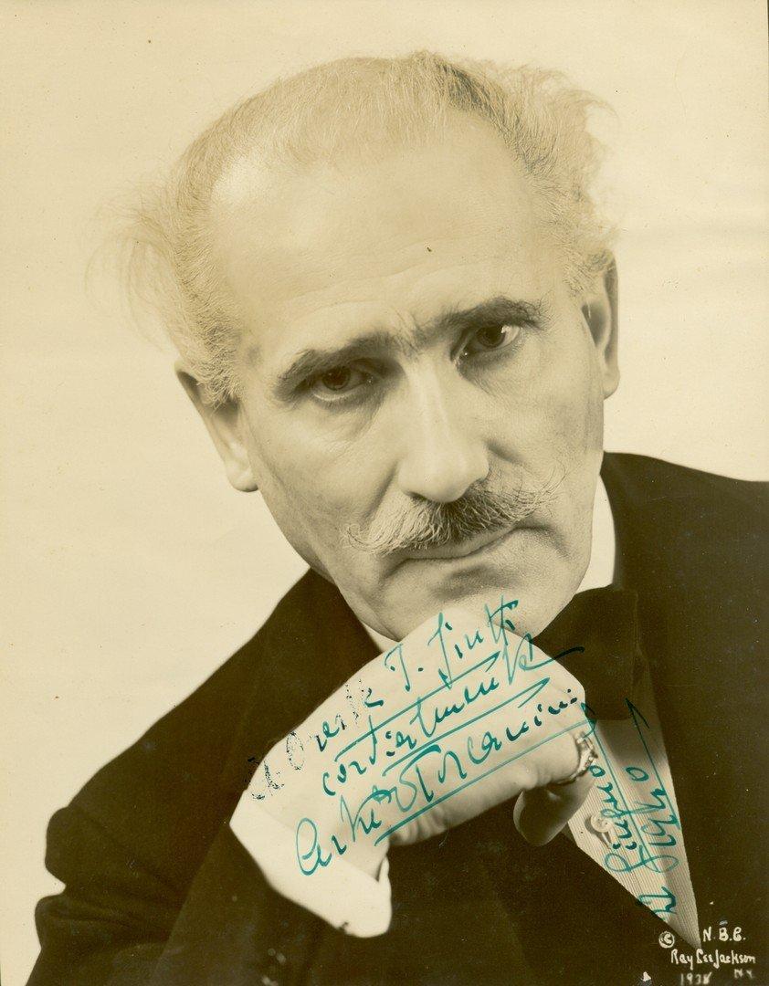 150  TOSCANINI ARTURO:  (1867-1957) Italian Conductor.