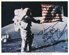 Cernan Gene: (1934- ) American Astronaut, Commander