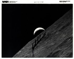 Earth & Moon Rises: Small Selection Of Signed 10 X 8