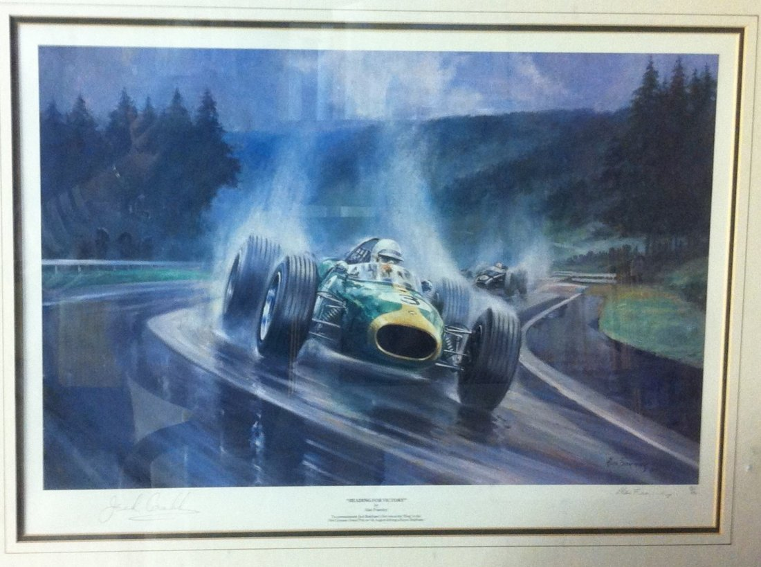 BRABHAM JACK: (1926-2014) Australian Motor Racing