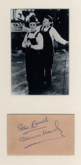 Laurel Stan (1890-1965) & Hardy Oliver (1892-1957)