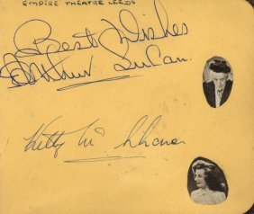 Autograph Albums: Two Autograph Albums Containing Over