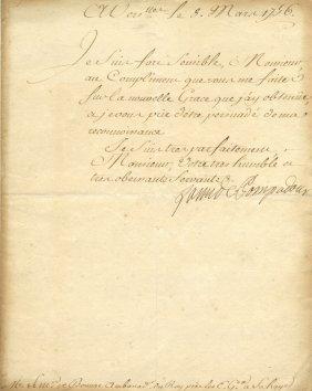 Pompadour Madame De: (1721-1764) Jeanne Antoinette