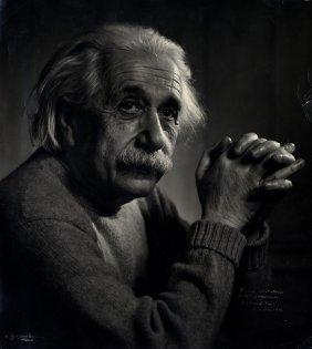 Einstein Albert: (1879-1955) German-born Theoretical