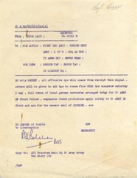 World War Ii: A Rare World War Ii Document Issued Under