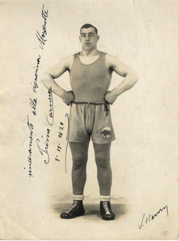 CARNERA PRIMO: (1906-1967) Italian Boxer, World