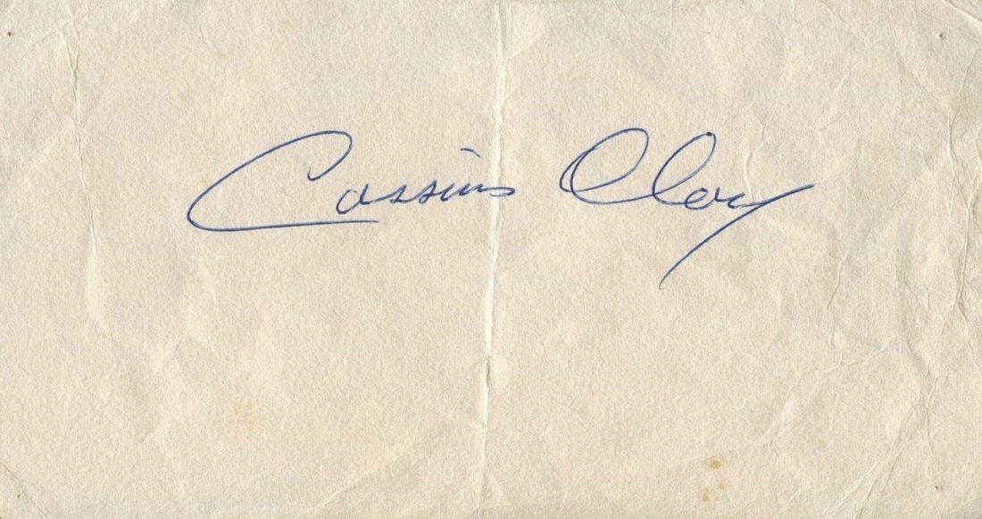 CLAY CASSIUS (1942-2016) Muhammad Ali. American Boxer,