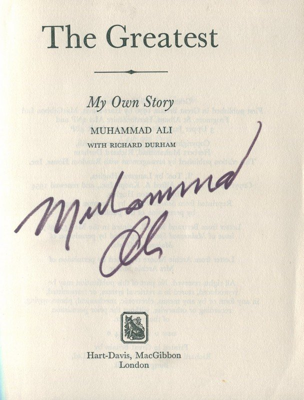ALI MUHAMMAD: (1942-2016) American Boxer, World