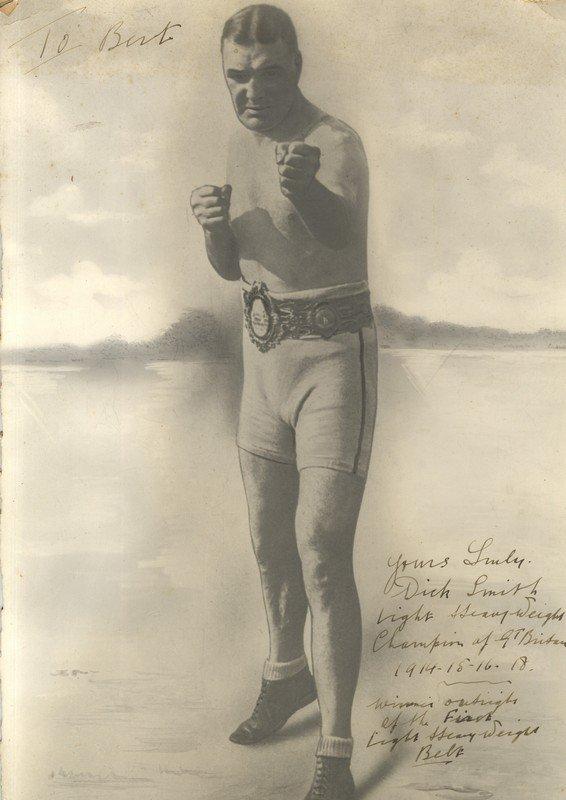 SMITH DICK: (1886-1950) British Boxer, British Light