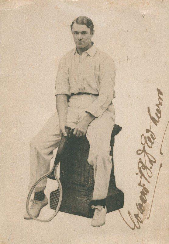 DEWHURST EDWARD: (1870-1941) Australian Tennis Player,