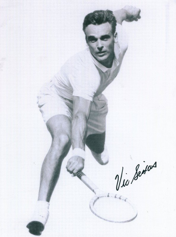 TENNIS: Selection of signed 8 x 10 photographs and a