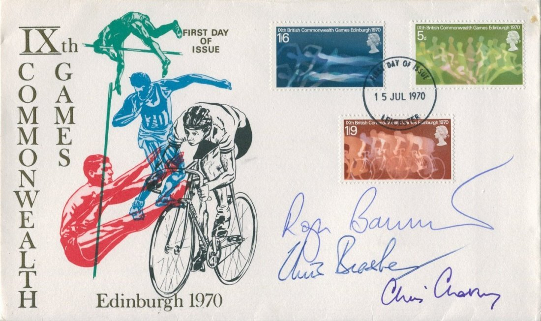 ATHLETICS: A First Day Cover issued to commemorate the