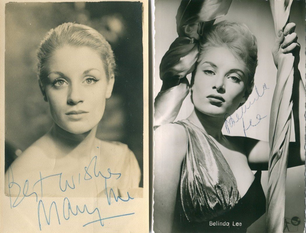 URE MARY: (1933-1975) Scottish Actress. Vintage signed