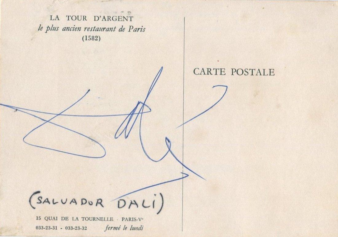 DALI SALVADOR: (1904-1989) Spanish Surrealist Painter.