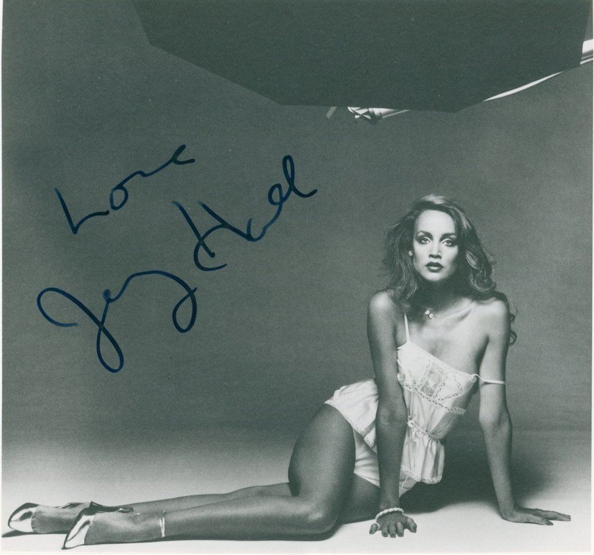 GLAMOUR: Selection of signed 8 x 10 photographs by