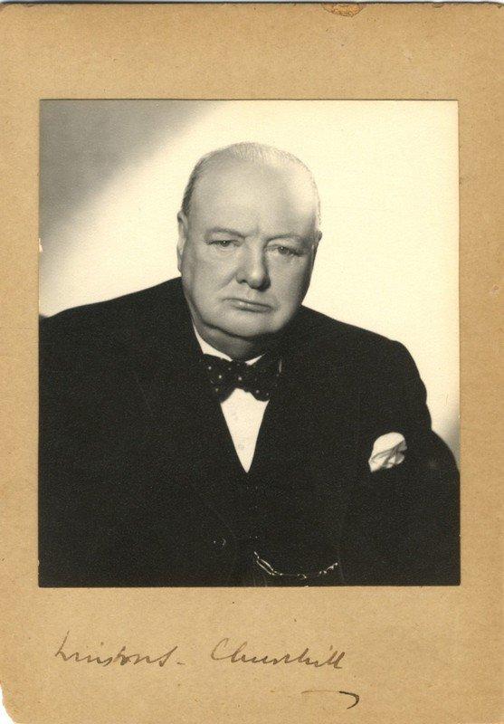 CHURCHILL WINSTON S.: (1874-1965) British Prime