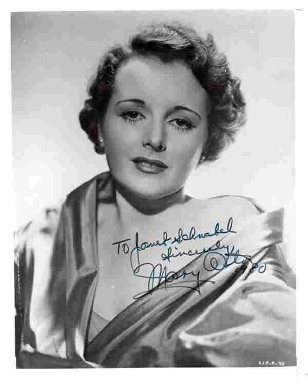 ASTOR MARY: (1906-1987) American Actress, Academy Award