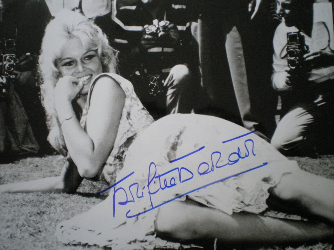 BARDOT BRIGITTE: (1934- ) French Actress and Sex