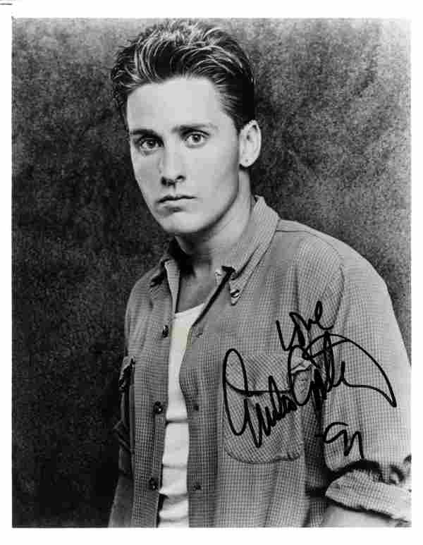 ACTORS: Selection of signed 8 x 10 photographs by