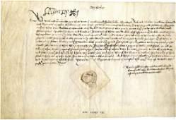 HENRY VIII: (1491-1547) King of England 1509-47.     A