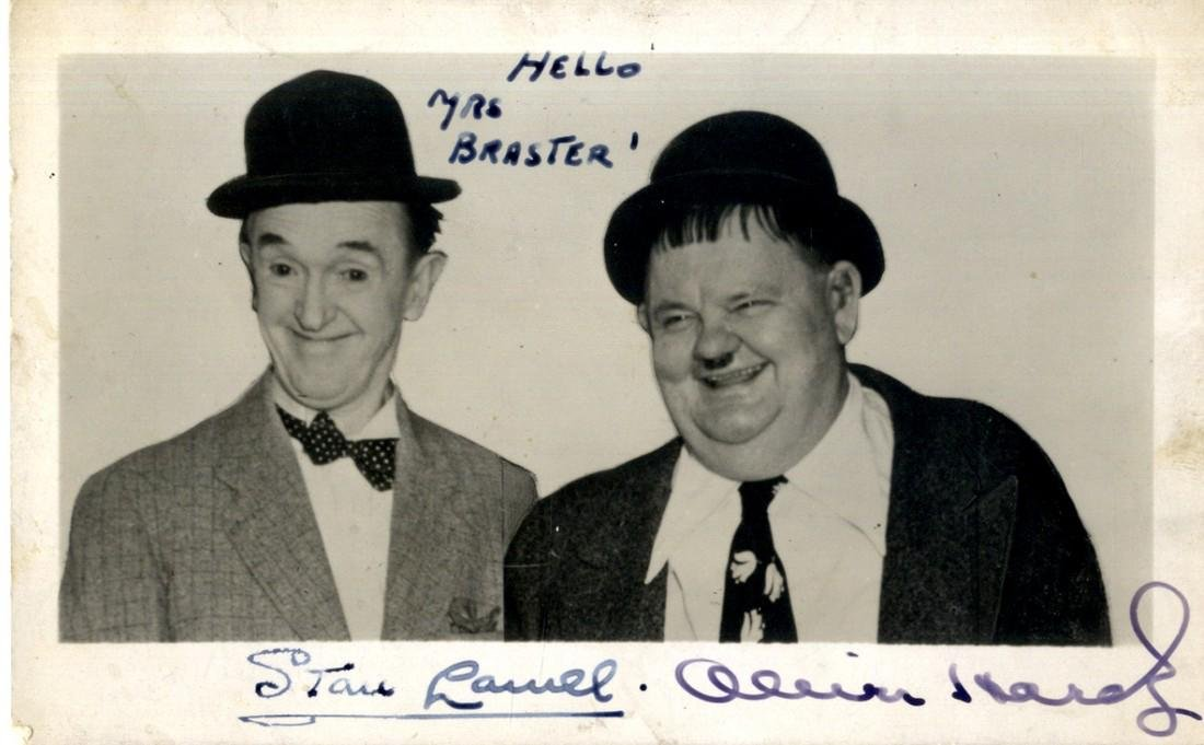 LAUREL & HARDY: LAUREL STAN (1890-1965) & HARDY OLIVER