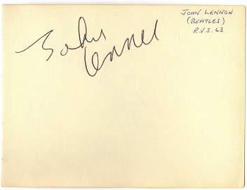 LENNON JOHN: (1940-1980) English Singer & Songwriter, a