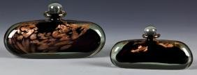 Michelle Luzoro Glass Perfume Bottles