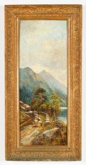 William Mellor (British, 1851-1931) Landscape Painting