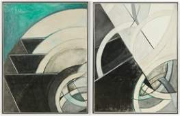 2 Large-scale Abstract Works on Paper