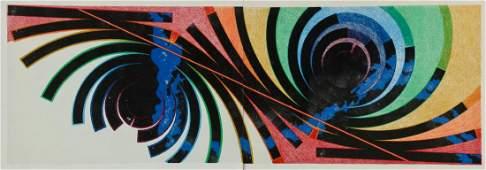 "Charles Ross (American, b. 1937) ""Star Space"
