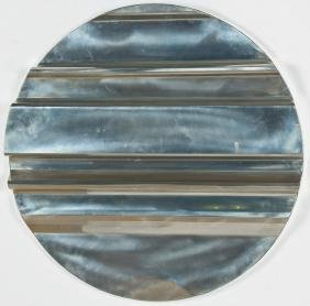 Geoffrey Naylor (American, 20th c.) Modern Metal Wall