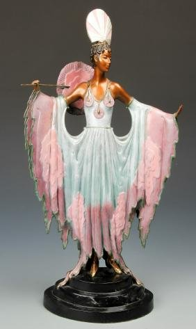 "Erte (1892-1990) ""Twilight"" Sculpture"
