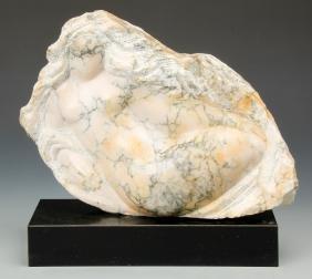 Michael Barkin (American, 20th c) Stone Sculpture